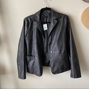 NWT Bagatelle Collection Faux Leather Jacket